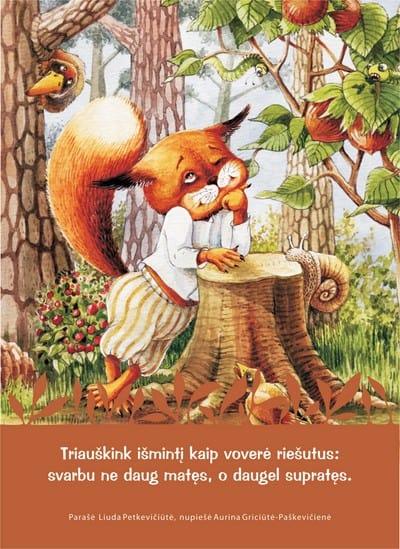 """Atvirlaiškis """"Triauškink išmintį kaip voverė riešutus: svarbu ne daug matęs, o daugel supratęs."""""""