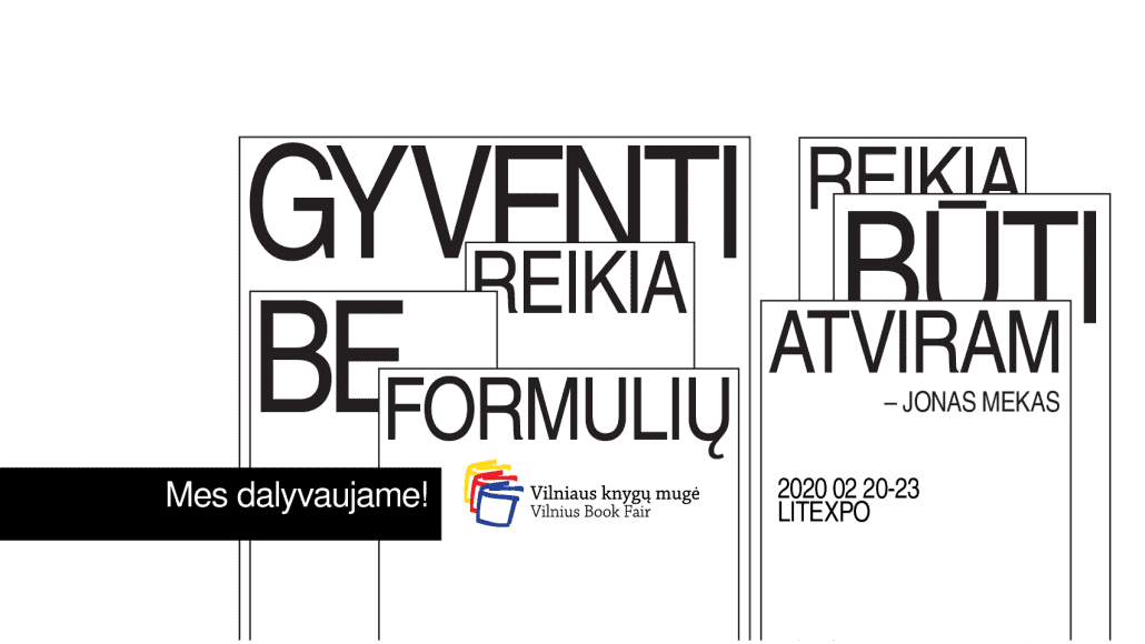 Kviečiame į Didžiąją Tarpgalaktinę Vilniaus Knygų Mugę! 2020.02.20 - 02.23 | Lieparas